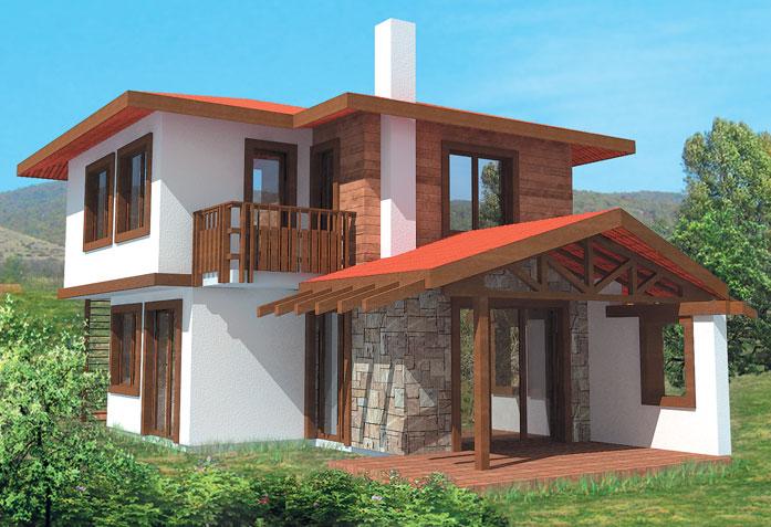 Проект на къща в с просеник рзп 100 кв
