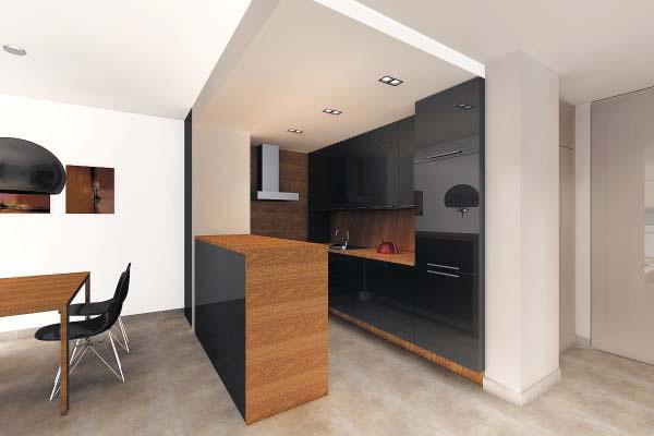Интериорен проект на тристаен апартамент