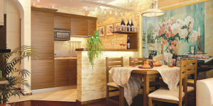 Интериорен проект на ваканционно жилище в к.к. Златни пясъци.