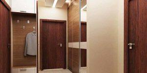 Антре – част от дизайн на апартамент с площ 66.32 кв.м