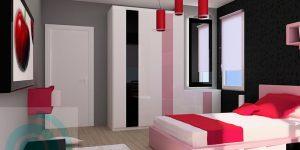 Интериорен дизайн на стая за госпожица на 13 г.