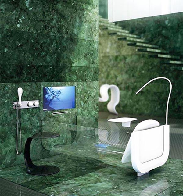 Allos се произвежда от италианската компания Glass Idromassaggio