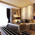 Спалня със скрито осветление