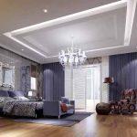 Спалня в елегантен ледено син нюанс