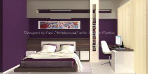 Една спалня – 2 цветови решения