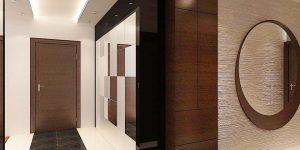 Антре – част от нтериорен дизайн на апартамент 160 кв.м