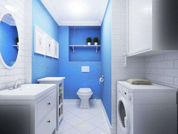 Самостоятелна тоалетна, която изпълнява ролята и на мокро помещение