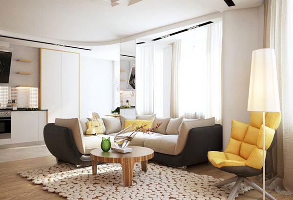 Интериорен дизайн на апартамент с летни нюанси