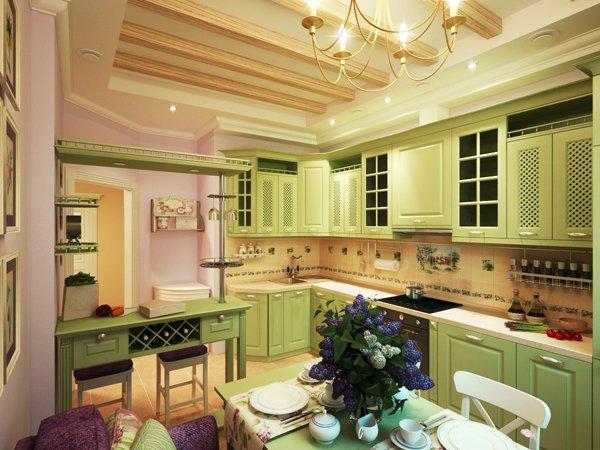 Кухня в провинциален стил
