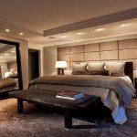 Окачен таван в спалнята