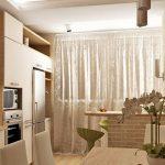 Идеи за кухня с присъединен балкон
