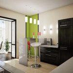 Кухня с присъединен балкон