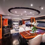 Интериор на яхта