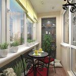 Идеи за остъклен балкон