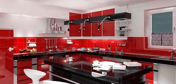 кухни-4erno-4erveno-10