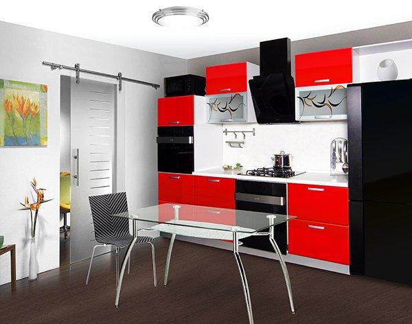 кухни-4erno-4erveno-12