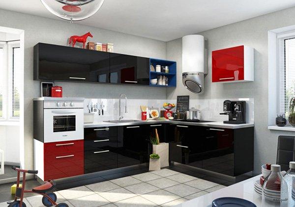 кухни-4erno-4erveno-19