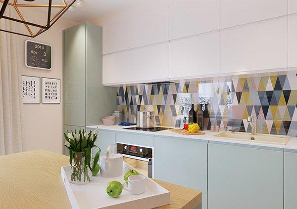 Маса за хранене в кухнята
