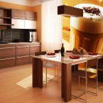 Идеи за декорация с фототапет в кухнята