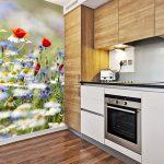 Декорация с фототапет в кухнята