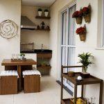Идеи за летни кухни на балкона