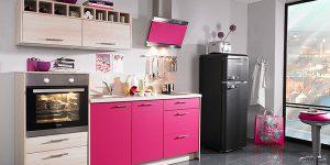 29 идеи за кухни в розови нюанси