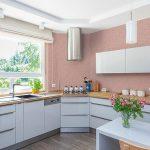 Идеи за кухни в розово