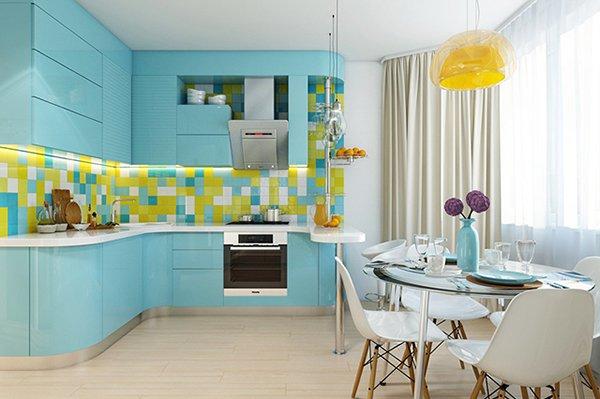 Интериорен дизайн на апартамент 61 кв.м