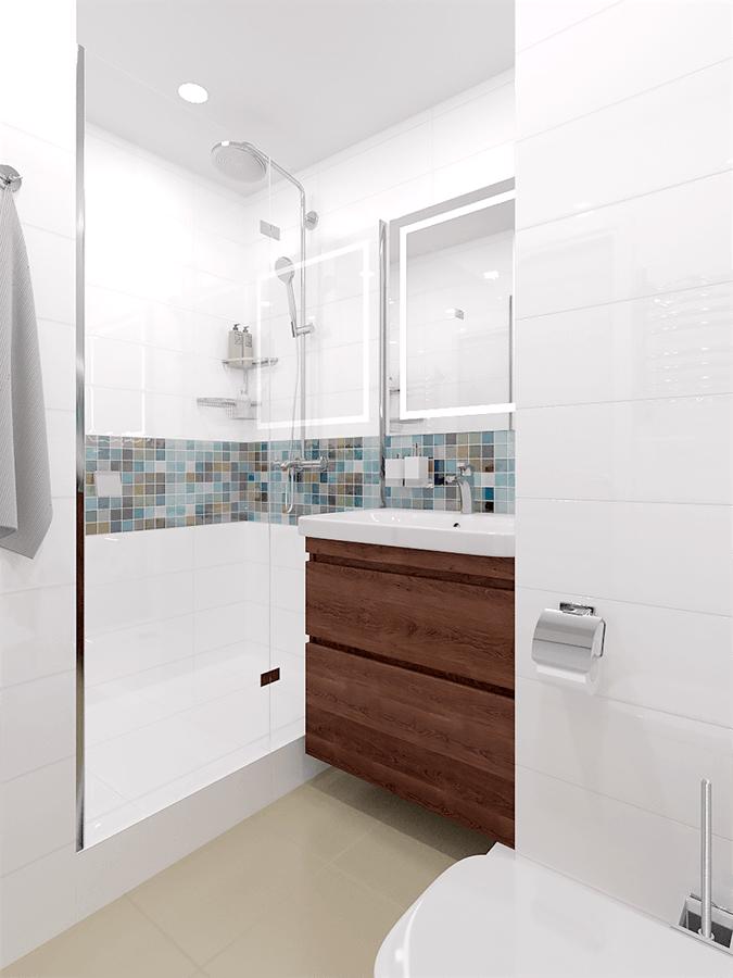 Апартамент с една спалня - баня