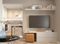 Интериор на апартамент с една спалня