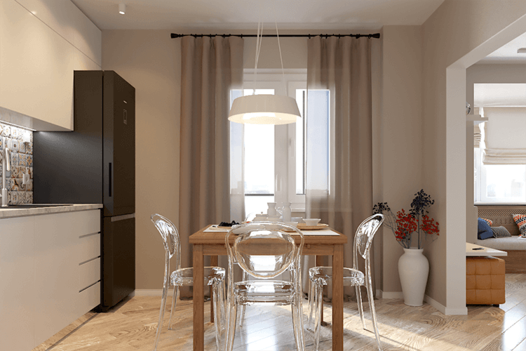 Апартамент с една спалня - трапезария