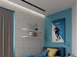 Детска стая за футболен фен