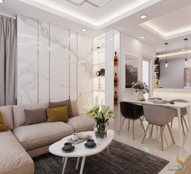 Интериор на малък апартамент във Виетнам