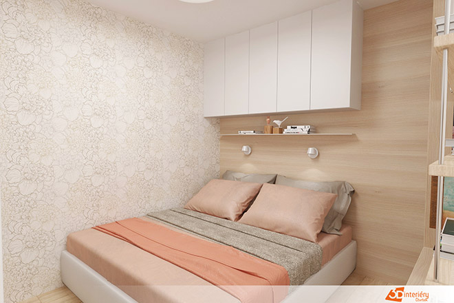 Спалня в дневна