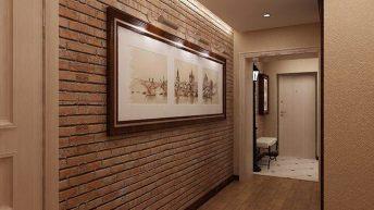 Антре с декоративни тухлички – актуално и модерно решение
