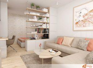 Спалня в дневна – решение за малък апартамент