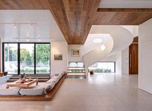 Интериорен дизайн на къща в Австралия