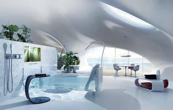 Невидима вана с минималистичен дизайн