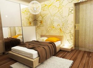 Интериорен дизайн на 2 спални – част от апартамент с площ 84 кв.м