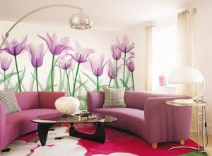 21 идеи за декорация на стени с флорални мотиви