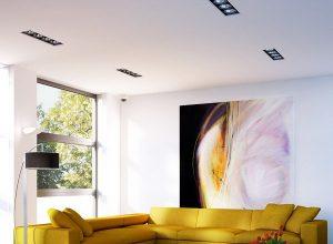 Дизайн на дневна зона в холандски апартамент