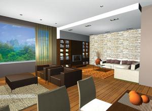 Интериорен дизайн на двуетажна къща в гр. Банкя