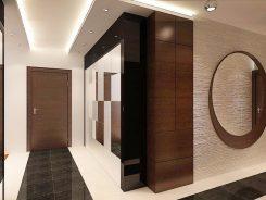 Антре - част от нтериорен дизайн на апартамент 160 кв.м