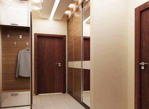 Антре - част от дизайн на апартамент с площ 66.32 кв.м
