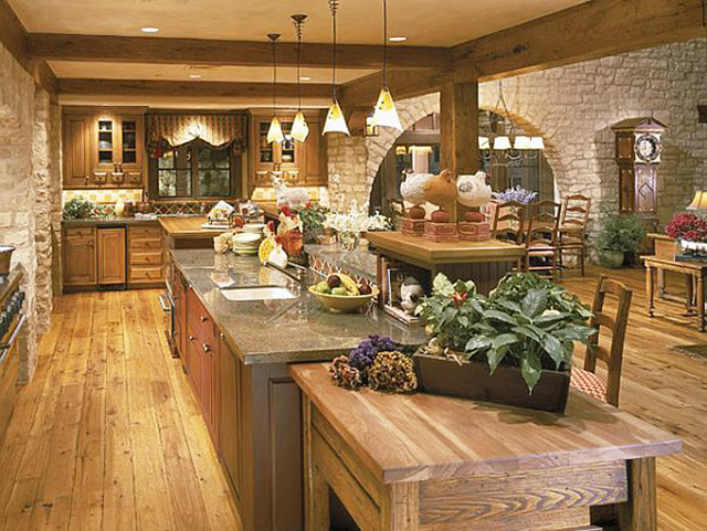 - Amazing beautiful kitchen rooms ...